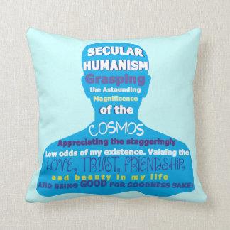 Secular Humanism Cushion