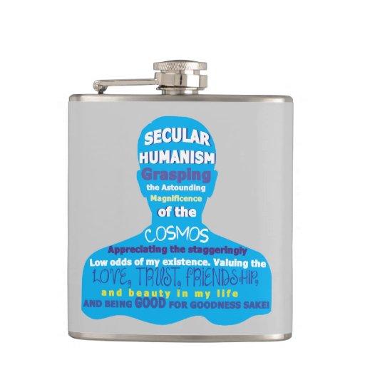 Secular Humanism Flasks