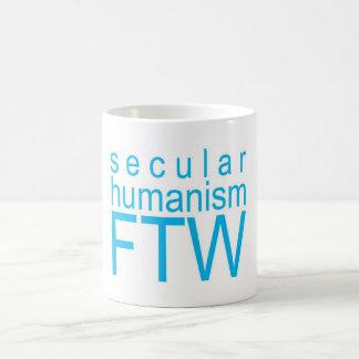 Secular Humanism FTW Basic White Mug