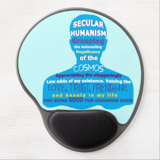 Secular Humanism Gel Mouse Pad