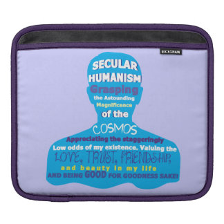 Secular Humanism iPad Case Sleeves For iPads
