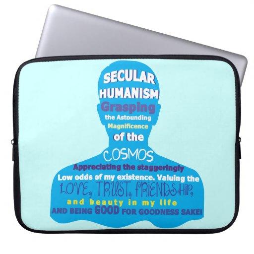 Secular Humanism Laptop Sleeves