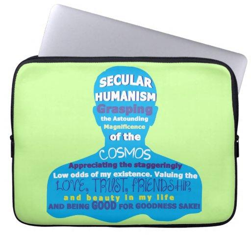 Secular Humanism Laptop Sleeve