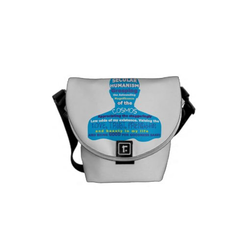 Secular Humanism Courier Bags
