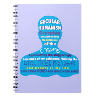 Secular Humanism Spiral Note Book