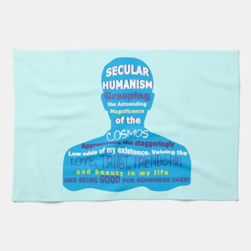 Secular Humanism Kitchen Towel