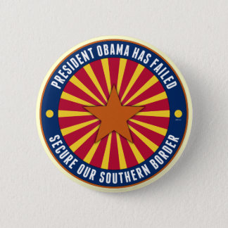 Secure Our Southern Border 6 Cm Round Badge
