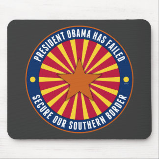 Secure Our Southern Border Mouse Pad