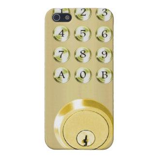 Securely locked iPhone 5 case