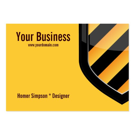 Create your own security guard business cards for Cctv business card