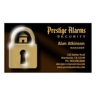 Security Business Cards Business Card