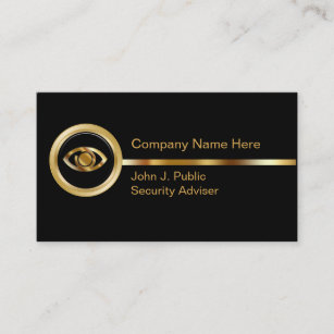 Security business cards zazzle uk security business cards reheart Image collections