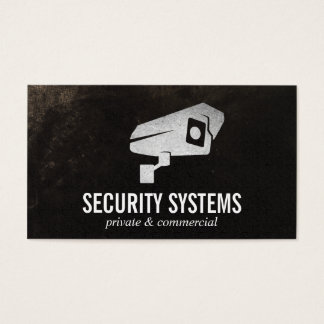 Security Camera Business Card