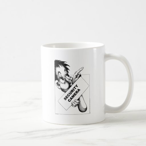 Security Camera Coffee Mug