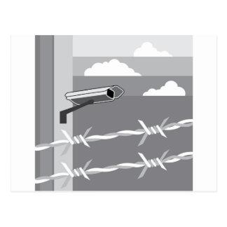 Security Camera. Secure Facility. Postcard