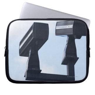 Security cameras laptop sleeve