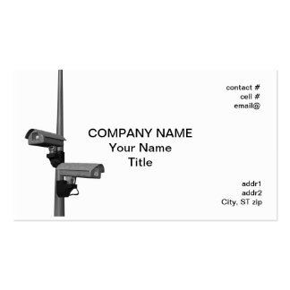 security cameras on pole business cards
