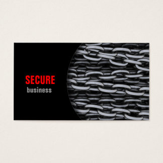 Security Chains Business Card