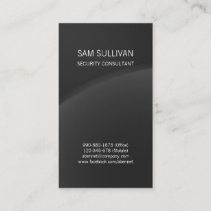 Security service business cards zazzle uk security consultant special skills dark horizon business card reheart Images