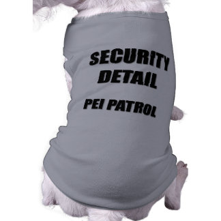 Security Detail  Pei Patrol Shirt