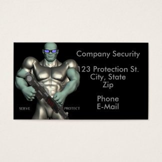 Security Guard Services Business Cards