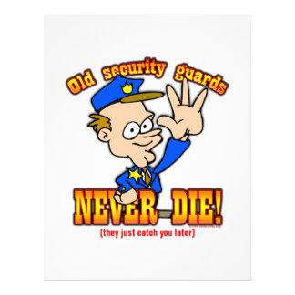 Security Guards 21.5 Cm X 28 Cm Flyer