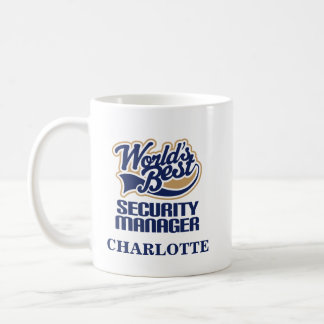 Security Manager Personalized Mug Gift
