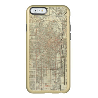 Security map and Street Railways in Los Angeles Incipio Feather® Shine iPhone 6 Case