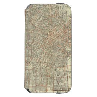 Security map and Street Railways in Los Angeles Incipio Watson™ iPhone 6 Wallet Case