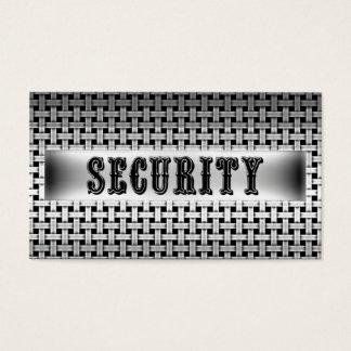 Security Metal Look Business Card