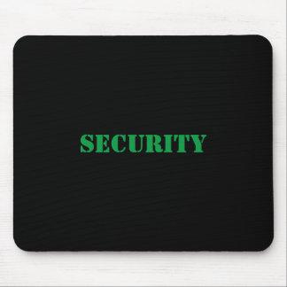 Security Mousepad-Green Font Mouse Mat
