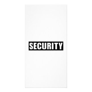 Security Photo Cards