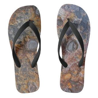 Sedementary Rock Nature Surface Flip Flops