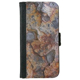 Sedementary Rock Surface iPhone 6 Wallet Case