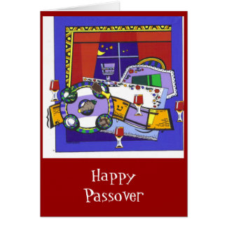 Seder Night Card