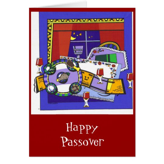 Seder Night Card