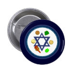 Seder Plate Buttons