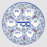 Seder Plate Stickers