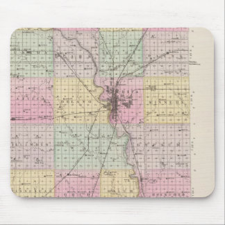 Sedgwick County, Mount Hope, and Derby, Kansas Mouse Mat