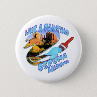 Sedona Arizona 6 Cm Round Badge