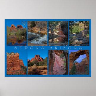 Sedona Arizona Collage Print