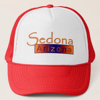 Sedona Arizona in Gold Hat