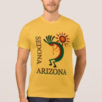 Sedona Arizona Kokopelli with Sun Gold T-Shirt