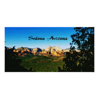 Sedona Arizona Photo Card Template