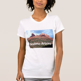 Sedona Arizona Red Cliffs Landmark Womens shirt