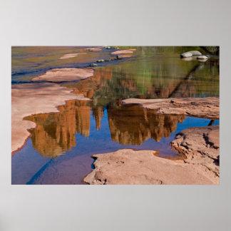 Sedona, Arizona Reflections 4021 Poster