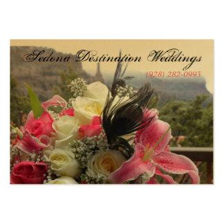Sedona Destination Weddings Wedding Planner Card Business Card