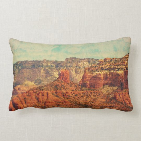 """Sedona In Grunge"" Decor Throw Pillow"