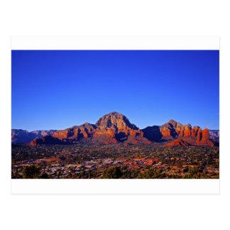 Sedona Mountain landscape Postcard