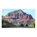 Sedona Mountains Car Road Pack Of Standard Business Cards
